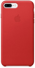 Apple Leather Case etui do iPhone 7 Plus (PRODUCT)RED