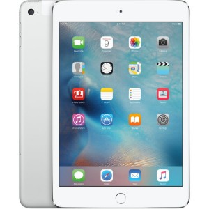 Apple iPad mini 4 128GB Wi-Fi + Cellular (srebrny)