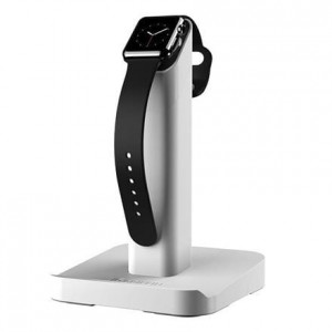 Griffin WatchStand - Stacja dokująca do Apple Watch (biały)