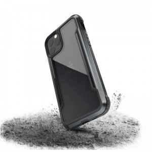 X-Doria Defense Shield - Etui aluminiowe iPhone 11 Pro (Drop test 3m) (Black)