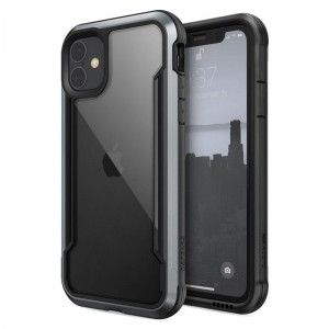 X-Doria Defense Shield - Etui aluminiowe iPhone 11 (Drop test 3m) (Black)