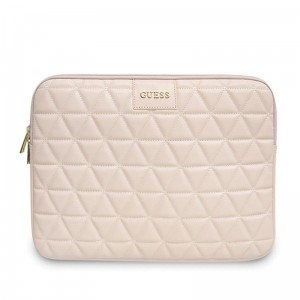 "Guess Quilted Computer Sleeve - Etui na notebooka 13"" (różowy)"