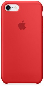 Apple Silicone Case etui do iPhone 7 (PRODUCT)RED