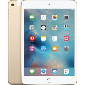 Apple iPad mini 4 128GB Wi-Fi + Cellular (złoty)