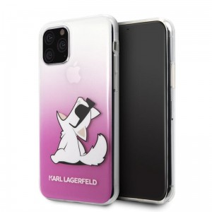 Karl Lagerfeld Choupette Fun Sunglasses - Etui iPhone 11 Pro (różowy)