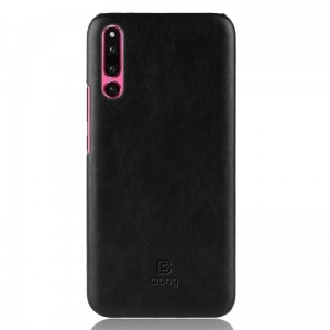 Crong Essential Cover - Etui Huawei P30 (czarny)
