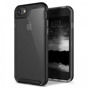 CASEOLOGY SKYFALL CASE - Etui iPhone 8 / 7 (black)