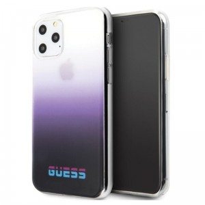 Guess California Gradient - Etui iPhone 11 Pro Max (Purple)