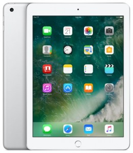 Apple iPad 128GB Wi-Fi + Cellular (srebrny)