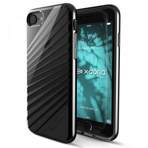 X-DORIA REVEL LUX - Etui iPhone 8 / 7 (Black Rays)