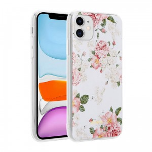 Crong Flower Case – Etui iPhone 11 (wzór 02)