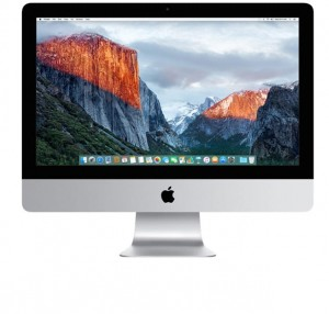 Apple iMac 21.5″ 2.8GHz(i5) 8GB/1TB Fusion Drive/Intel Iris Pro 6200
