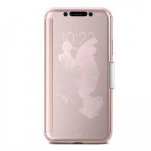 MOSHI STEALTHCOVER - Etui iPhone X (champagne pink)