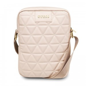 "Guess Quilted Tablet Bag - Torba na notebooka / tablet 10"" (różowy)"