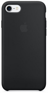 Apple Silicone Case etui do iPhone 7 (czarne)