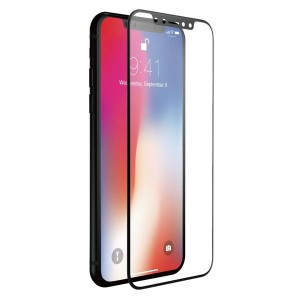 JustMobile Xkin iPhone X Tempered Glass full cover - Szkło hartowane do iPhone X