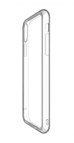 JustMobile TENC etui do iPhone X Crystal - Samoregenerujące etui do iPhone X