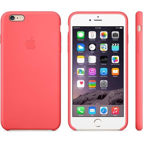 Najnowsze Apple silikonowe etui do iPhone 6 Plus, 6s Plus różowe iShock.pl HJ54