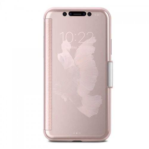 Etui iPhone X (champagne pink)